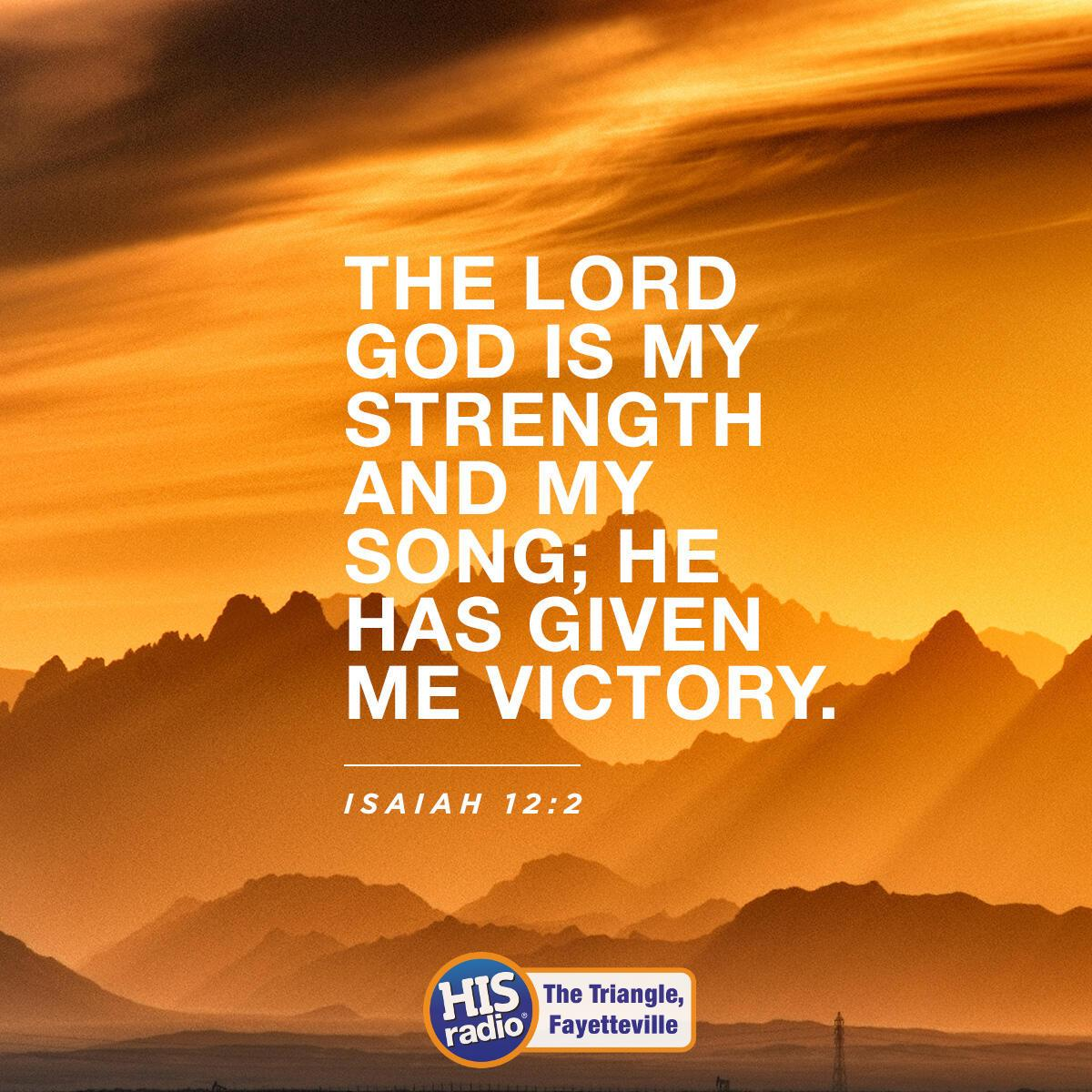 Isaiah 12:2 - Verse of the Day