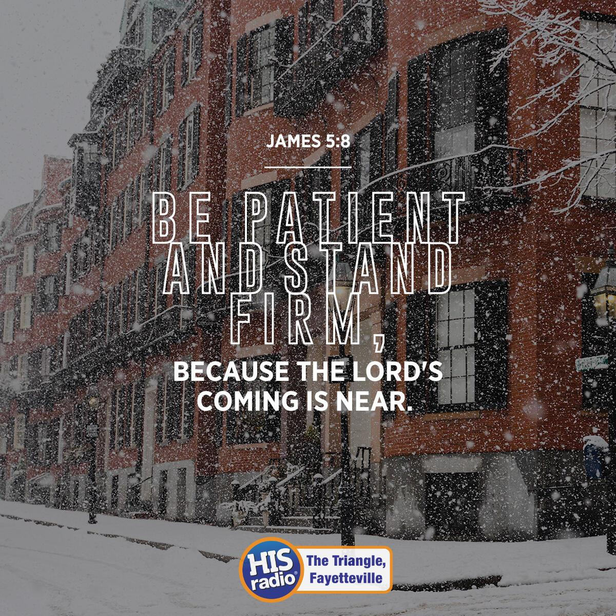James 5:8 - Verse of the Day