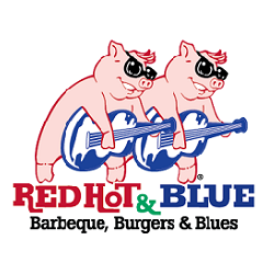 Red Hot & Blue - N Raleigh Logo
