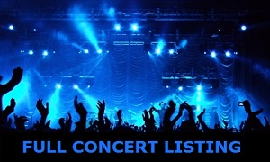 Box Office - Concerts List