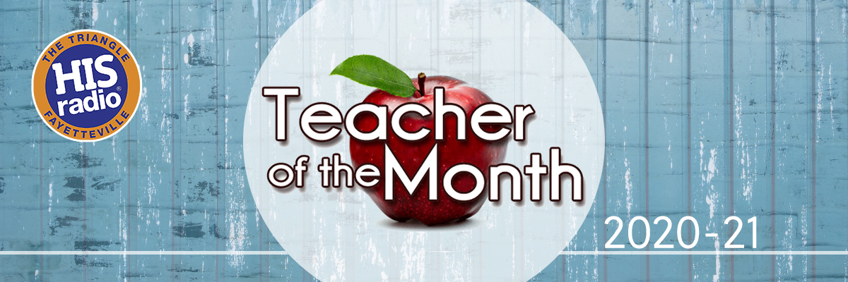 Teacher of the Month 2020